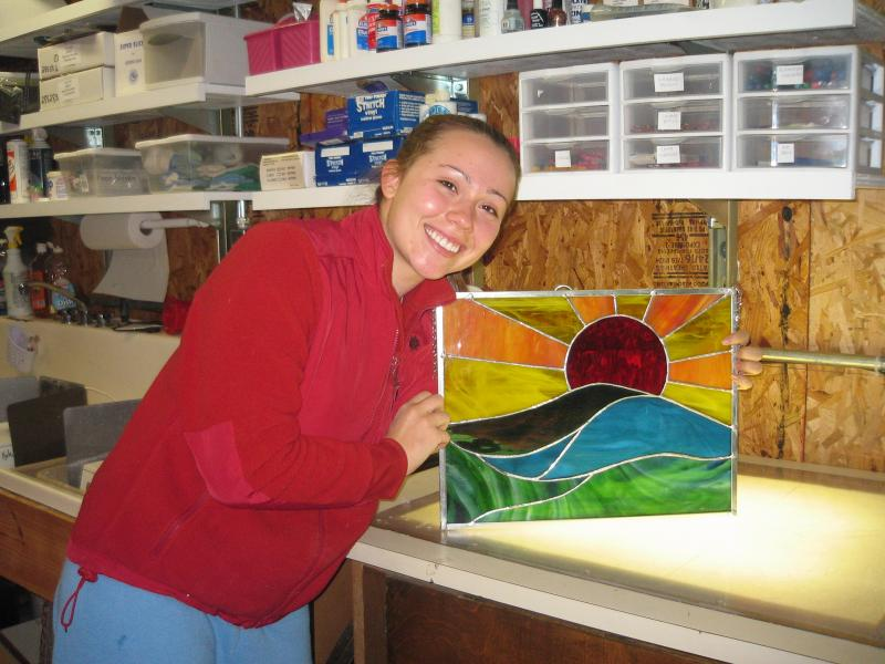 8 Week Beginning/Intermediate Stained Glass